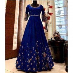 Designer anarkali umbrella Cut Gown