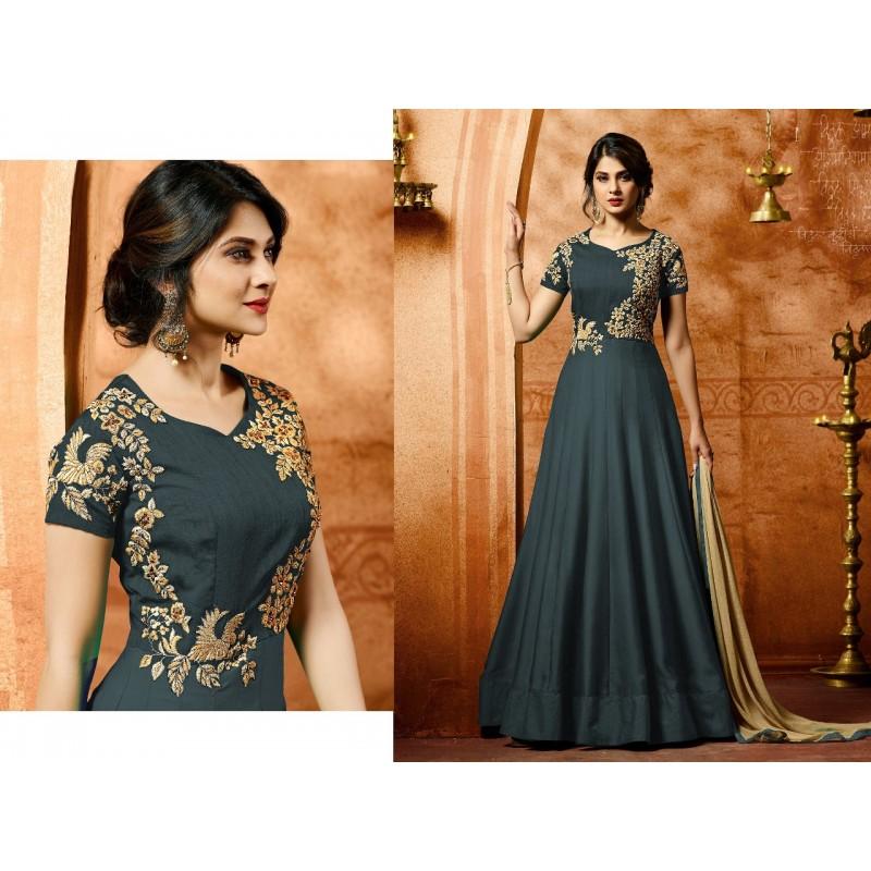 847e3a23af48 Jennifer Winget Georgette Designer Gown