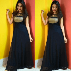 Grennite Black Superb Gown