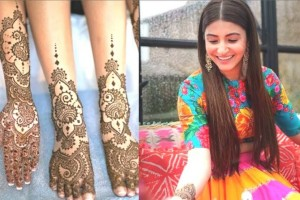 Latest Mehndi Dresses You should Give a Go!