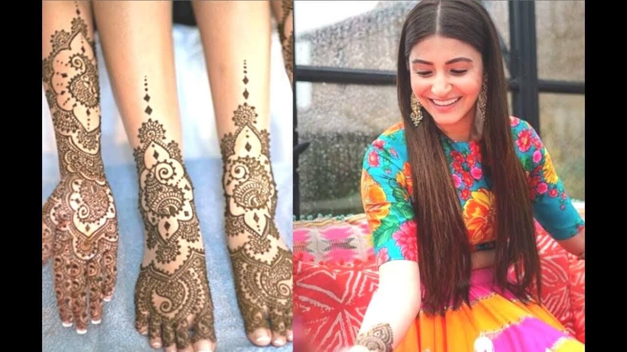 948d4edfa1 Latest Mehndi Dresses You should Give a Go!